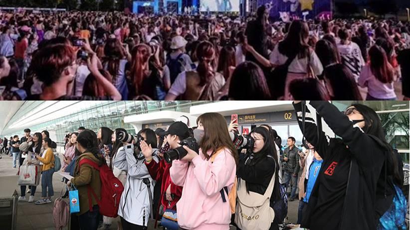 lingkaran penggemar artis di Tiongkok