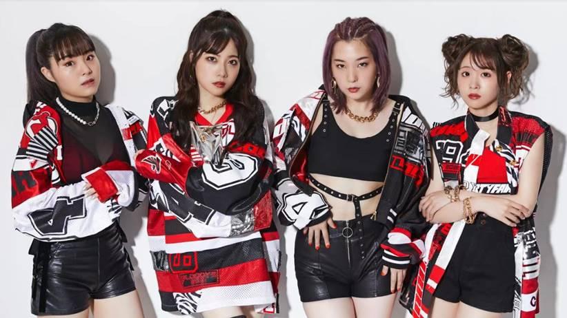 BlooDye japanese girl grup
