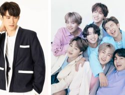 Thai Actor First Chalongrat Says He Likes Listening To BTS Songs