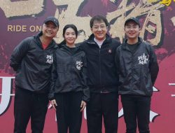 Jackie Chan and Liu Haocun Start Filming New Movie 'Ride On'