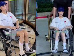 Bikin Khawatir, Luo Yunxi Cedera dan Terbaring Kurus di Kursi Roda