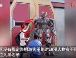 Netizen Tiongkok Dihebohkan dengan Video di Universal Studios Beijing
