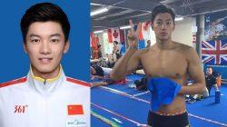 wang shun atlet renang tiongkok