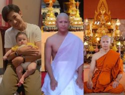 Pamit Sementara dari Dunia Hiburan, Singto Prachaya Akhirnya Resmi Menjadi Seorang Biksu