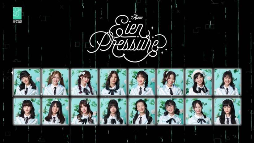 cgm48 1st album eien pressure