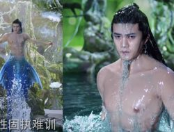 Adegan Telanjang Dada Ren Jialun di Drama 'The Blue Whisper' Jadi Sorotan Netizen